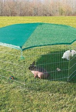 Trixie 8 Panel Outdoor Run with Protective Net 8 x 80 x 75cm