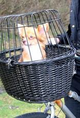 Trixie Bicycle basket with lattice, 50 x 41 x 35cm, black