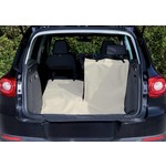 Trixie Car Boot Dividable Cover, Beige 1.8 x 1.3m