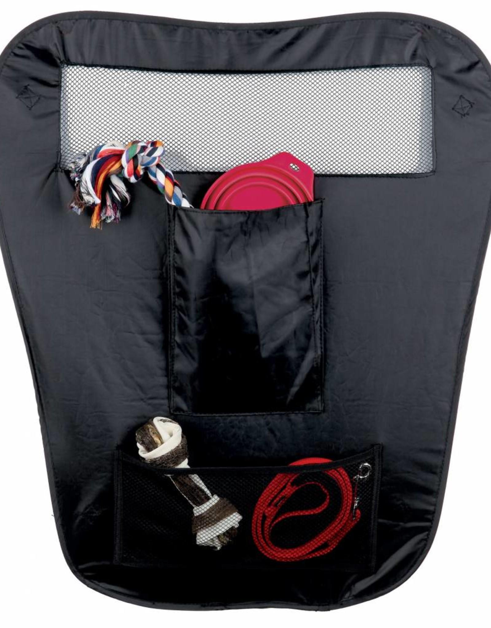 Trixie Car safety partition, foldable, nylon, 60/44 x 69 cm, black