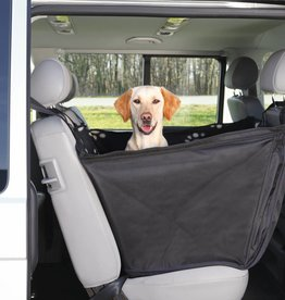 Trixie Car seat cover with sidewalls, 0.65 x 1.45 m, black/beige
