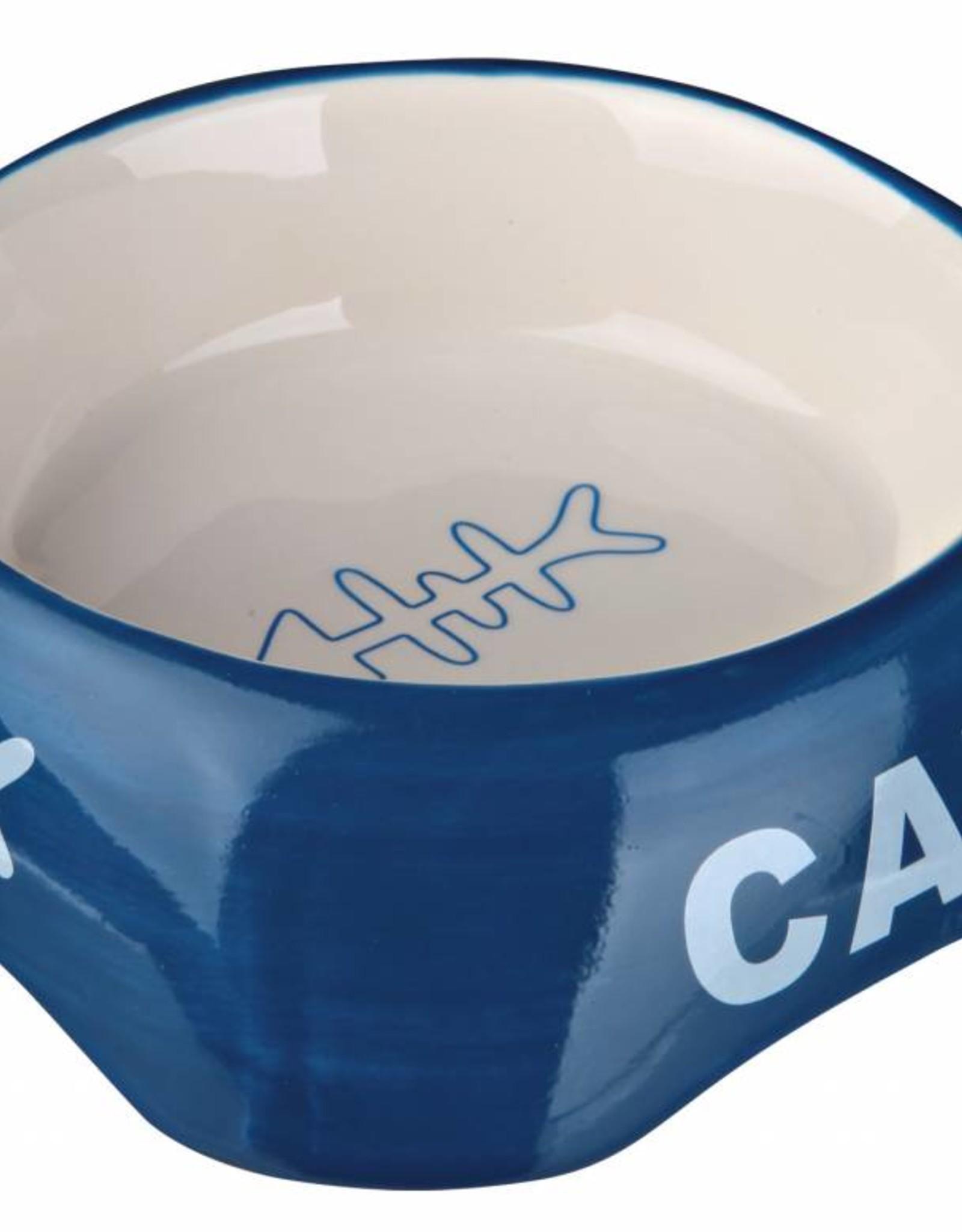 Trixie Ceramic Cat Bowl, 13cm in various colours