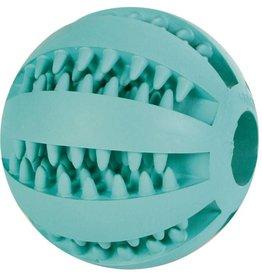 Trixie Denta Fun Baseball Mint Flavour, Natural Rubber 5cm