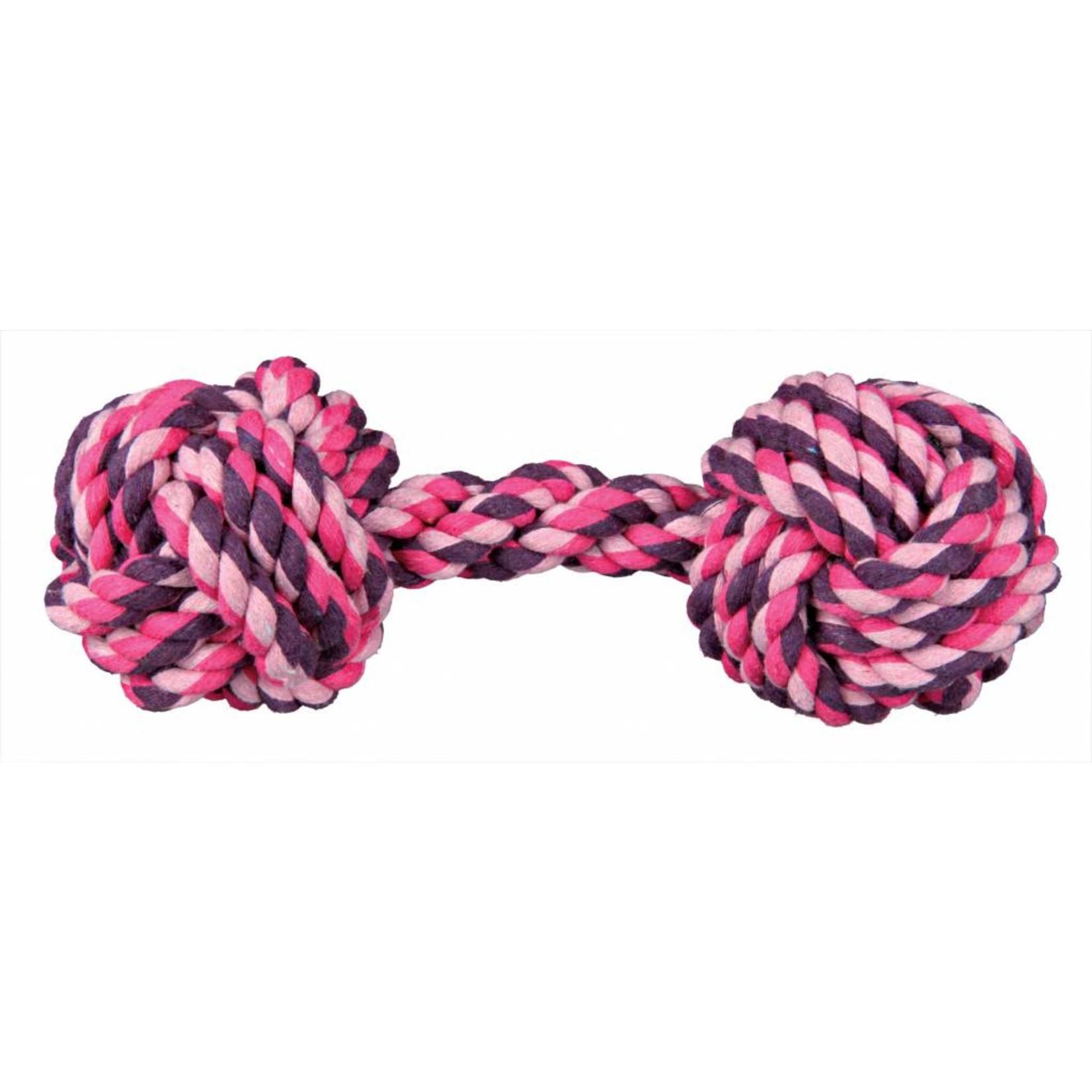 Trixie Denta Fun Rope Dumbbell Dog Toy
