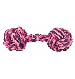 Trixie Denta Fun Rope Dumbbell Dog Toy