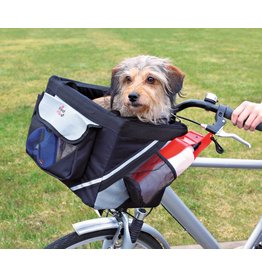 Trixie Front Box Basic for bicycles, Black & Grey, 38 x 25 x 25cm