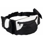Trixie Hip Bag Baggy Belt, Black & Grey, 17 x 12 x 7cm