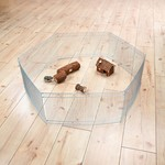 Trixie Indoor 6 Panel Galvanised Run for Hamsters and Mice, 6 x 48 x 25cm