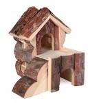 Trixie Natural Living Bjork Wooden Hamster House, 15 x 15 x 16cm