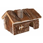Trixie Natural Living Hendrik Wooden Small Animal House, 20 x 13 x 13 cm