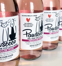 Woof&Brew Pawsecco Rose Wine for Cats and Dogs 250ml