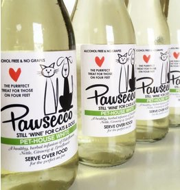 Woof&Brew Pawsecco White Wine for Cats and Dogs, 250ml