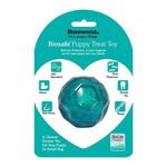 Rosewood Biosafe Puppy Treat Ball Blue
