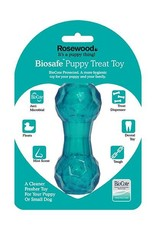 Rosewood Biosafe Puppy Treat Dumbell Blue