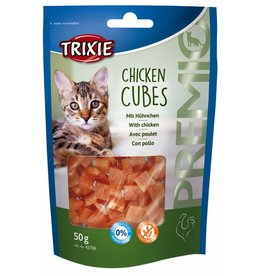 Trixie Chicken Cubes Cat Treats, 50g
