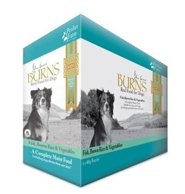 Burns Penlan Farm Dog Food Pouch Complete Fish Brown Rice & Veg 400g, Box of 6