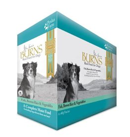 Burns Penlan Farm Dog Wet Food Pouch Complete Fish Brown Rice & Veg 400g, Box of 6