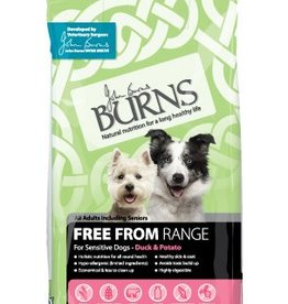 Burns Free From Dog Dry Food, Duck & Potato