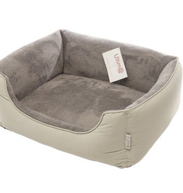 Gor Pets Ultima Dense Foam Dog Bed, Grey Canvas