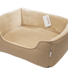 Gor Pets Ultima Dense Foam Dog Bed, Beige Canvas