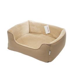 Gor Pets Ultima Dense Foam Dog Bed, Beige Canvas