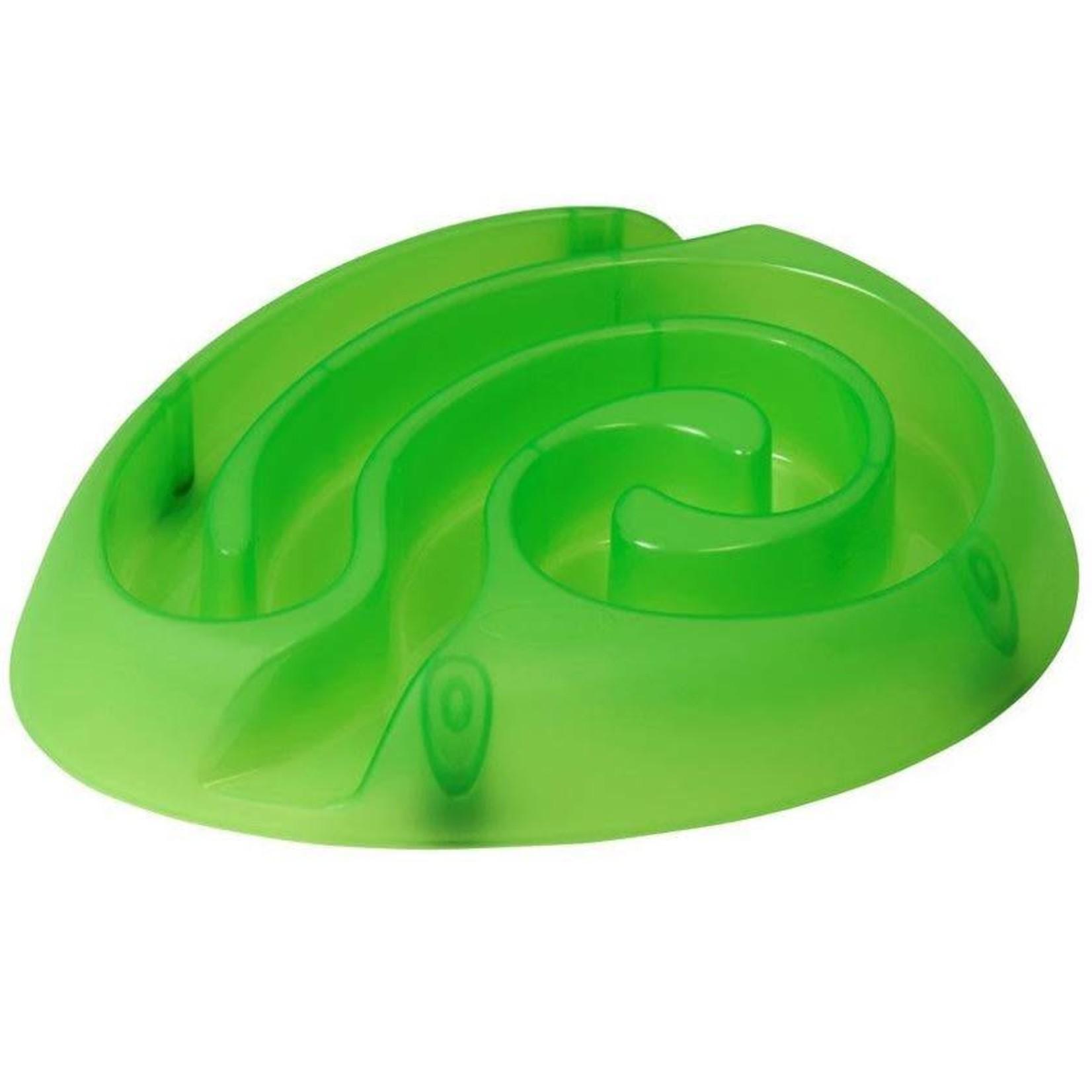 Buster DogMaze Food Bowl Lime