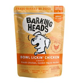 Barking Heads Bowl Lickin' Chicken Adult Wet Dog Food, 300g