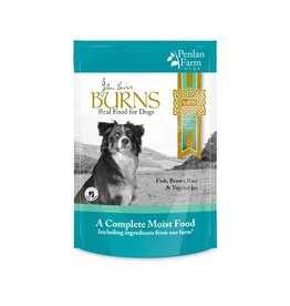 Burns Penlan Farm Dog Food Pouch Complete Fish Brown Rice & Veg 400g