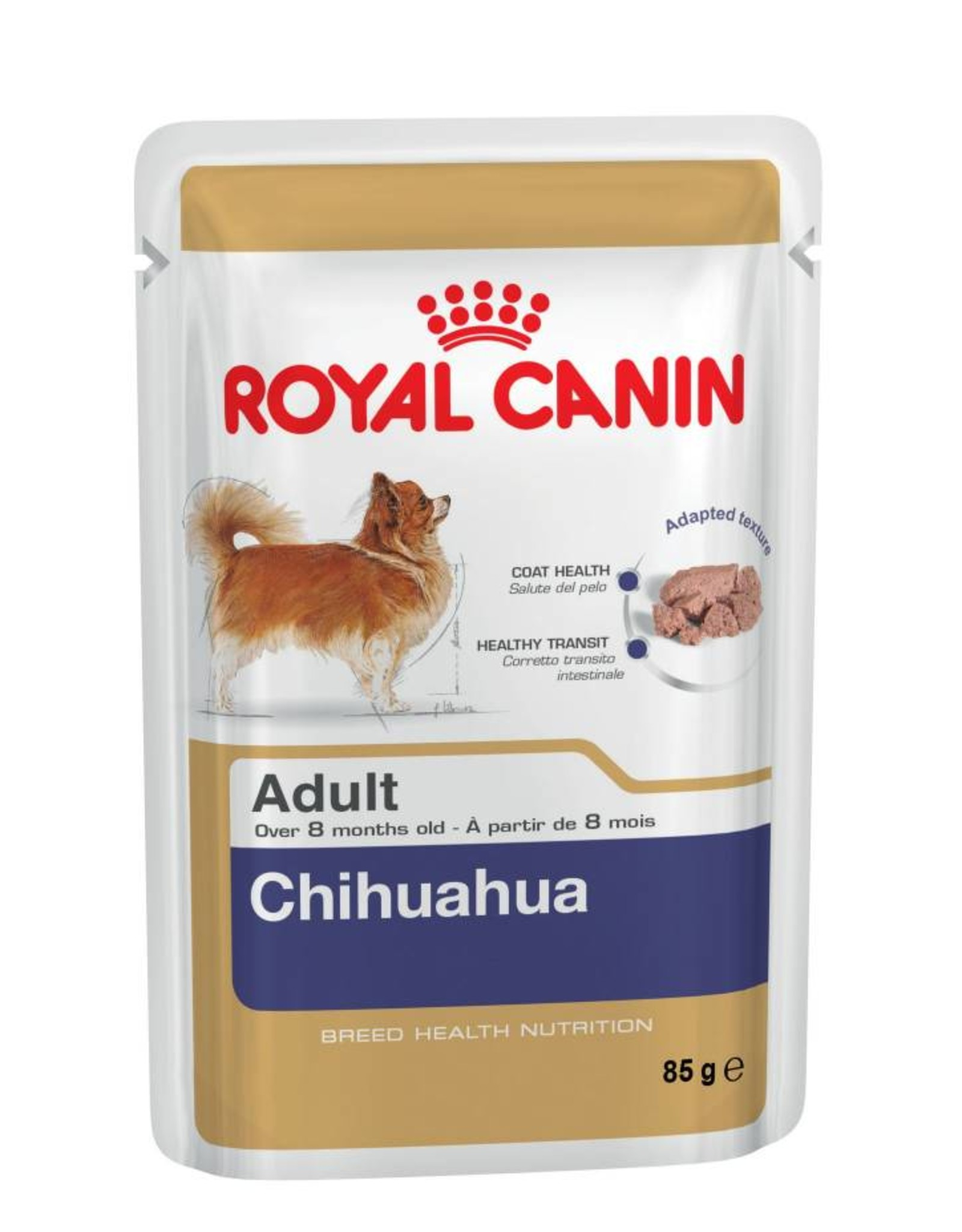 Royal Canin Chihuahua Adult Dog Wet Food Pouch, 85g