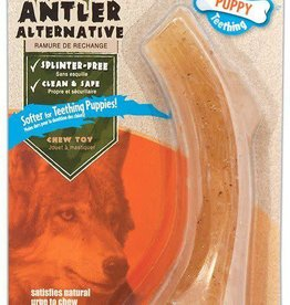 Nylabone Antler Alternative Puppy Antler Dog Treat Wolf