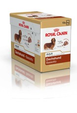 Royal Canin Dachshund Adult Dog Wet Food Pouch 85g, Box of 12