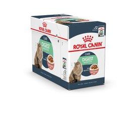 Royal Canin Feline Digest Sensitive Pouch Wet Cat Food 85g, Box of 12