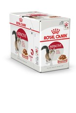 Royal Canin Instinctive 7+ Adult Cat Wet Food Pouch with Gravy, 85g, box of 12