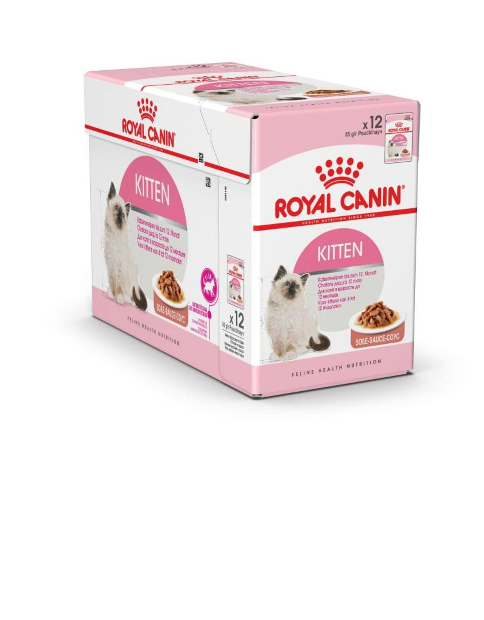 Royal Canin Kitten Wet Food Pouch with Gravy, 85g, box of 12