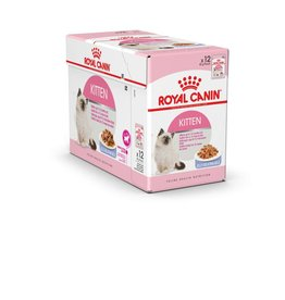 Royal Canin Feline Kitten Instinctive Pouch in Jelly Wet Cat Food 85g, Box of 12