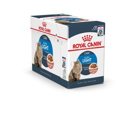 Royal Canin Feline Ultra Light Pouch in Gravy Wet Cat Food 85g, Box of 12