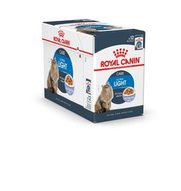 Royal Canin Light Weight Care Adult Cat Wet Food Pouch with Jelly, 85g, box of 12