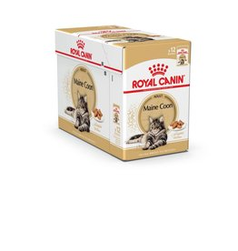 Royal Canin Maine Coon Pouch in Gravy Wet Cat Food 85g, Box of 12
