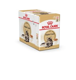 Royal Canin Maine Coon Adult Cat Wet Food Pouch, 85g, box of 12