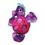 KONG Sea Shells Seahorse Dog Toy, Small - Medium