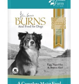 Burns Penlan Farm Dog Wet Food Pouch Complete Egg Brown Rice & Veg 150g