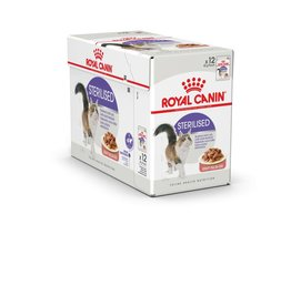 Royal Canin Feline Sterilised Care Pouch in Gravy Wet Cat Food 85g, Box of 12