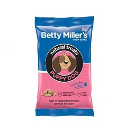 Betty Miller Gluten Free Natural Treats Puppy Dogs 100g