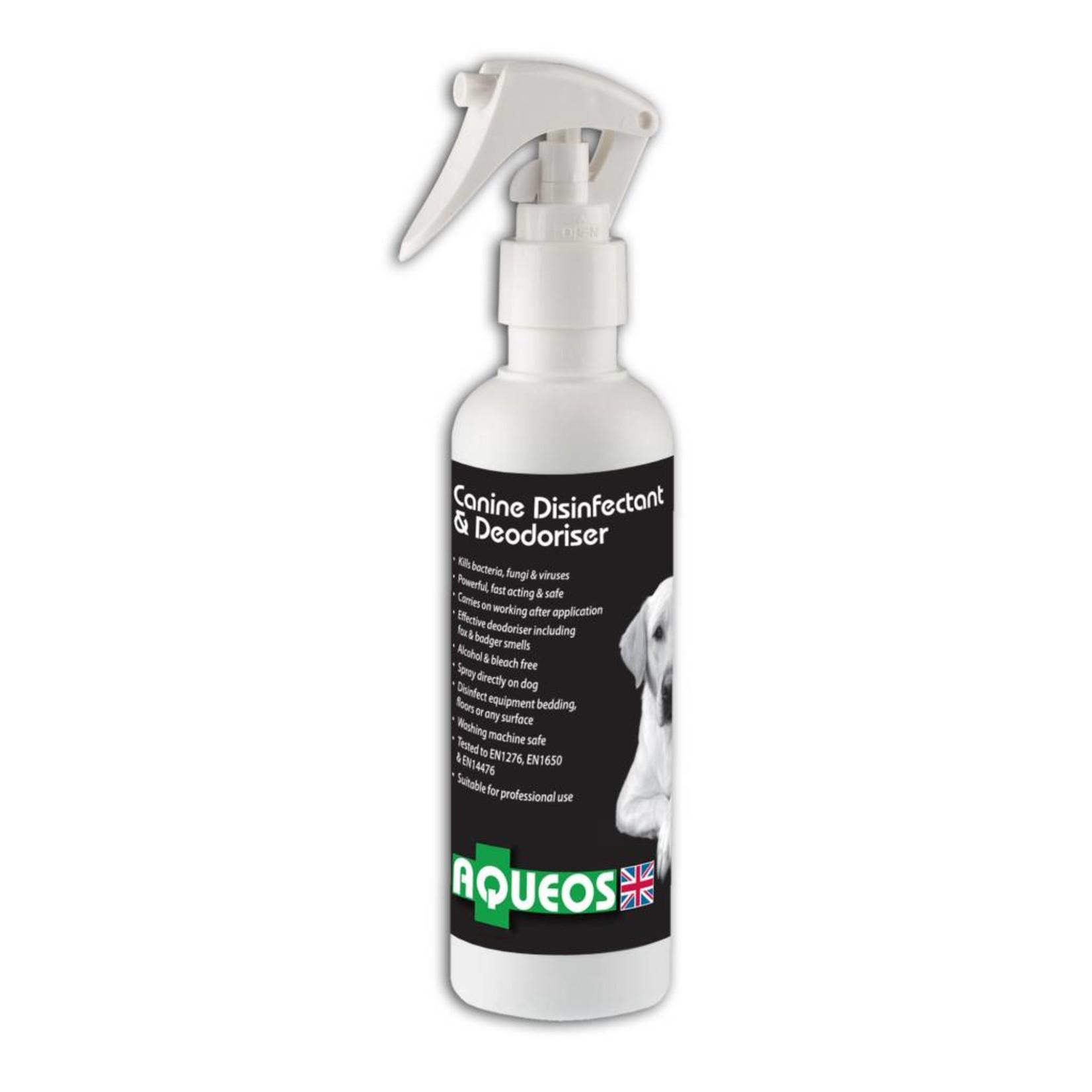 Aqueos Canine Disinfectant Deodoriser Spray Fragranced, 200ml