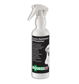Aqueos Canine Disinfectant Deodoriser Spray Fragranced 200ml