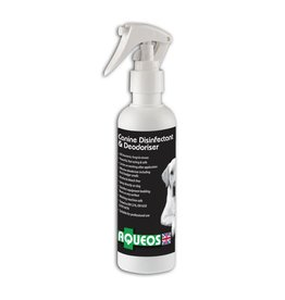 Aqueos Canine Disinfectant Deodoriser Spray Fragranced, 200ml