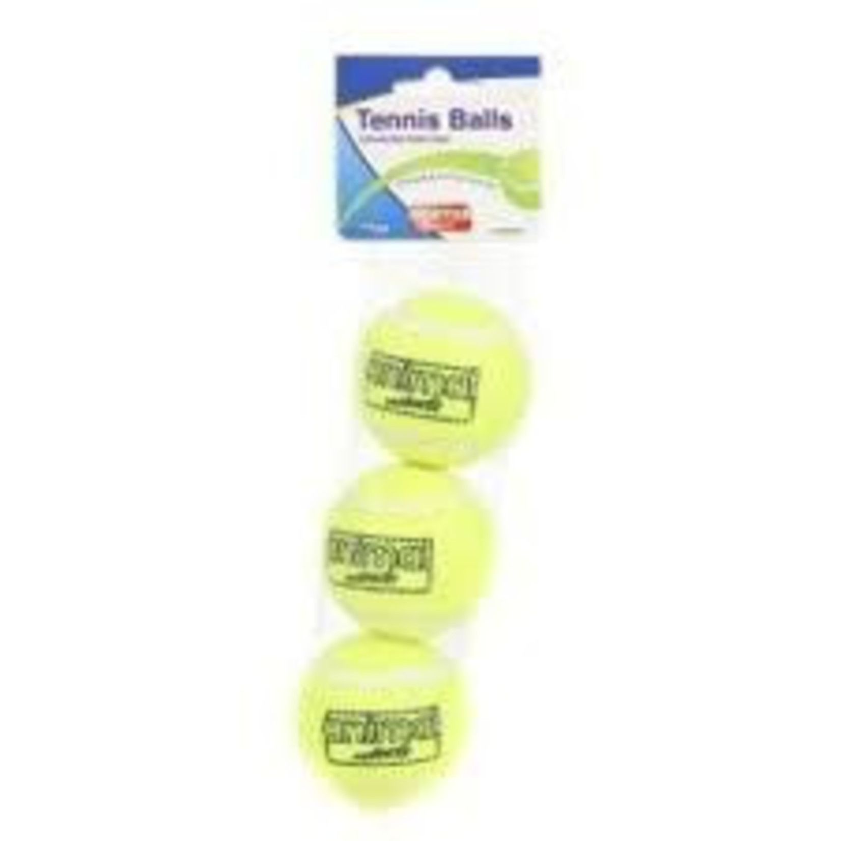 Animal Instincts Tennis Ball Dog Toy, 3 pack