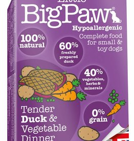Little BigPaw Tender Duck & Vegetable Dinner for Small & Toy Dogs 7 x 150g