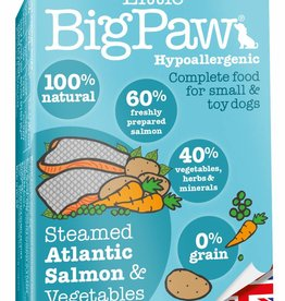Little BigPaw Steamed Atlantic Salmon & Vegetable Terrine for Small & Toy Dogs 7 x 150g