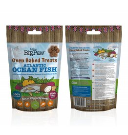 Little BigPaw Oven Baked Atlantic Ocean Fish Dog Treats, 130g